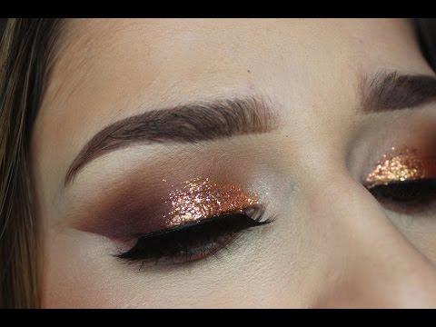 Warm Copper Smokey Eye | Makeup Tutorial | Jenn Lee