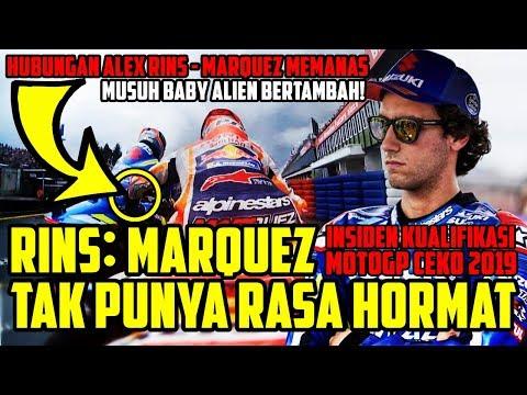 TENSI MEMANAS!! IMBAS INSIDEN KUALIFIKASI MOTOGP CEKO 2019 ALEX RINS SEBUT MARQUEZ TAK PUNYA RESPECT