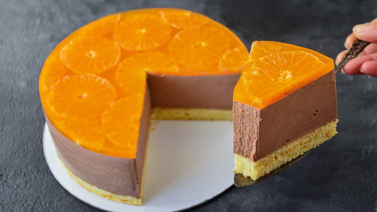 ТОРТ Шоколад-Апельсин ☆ БАРХАТНАЯ текстура