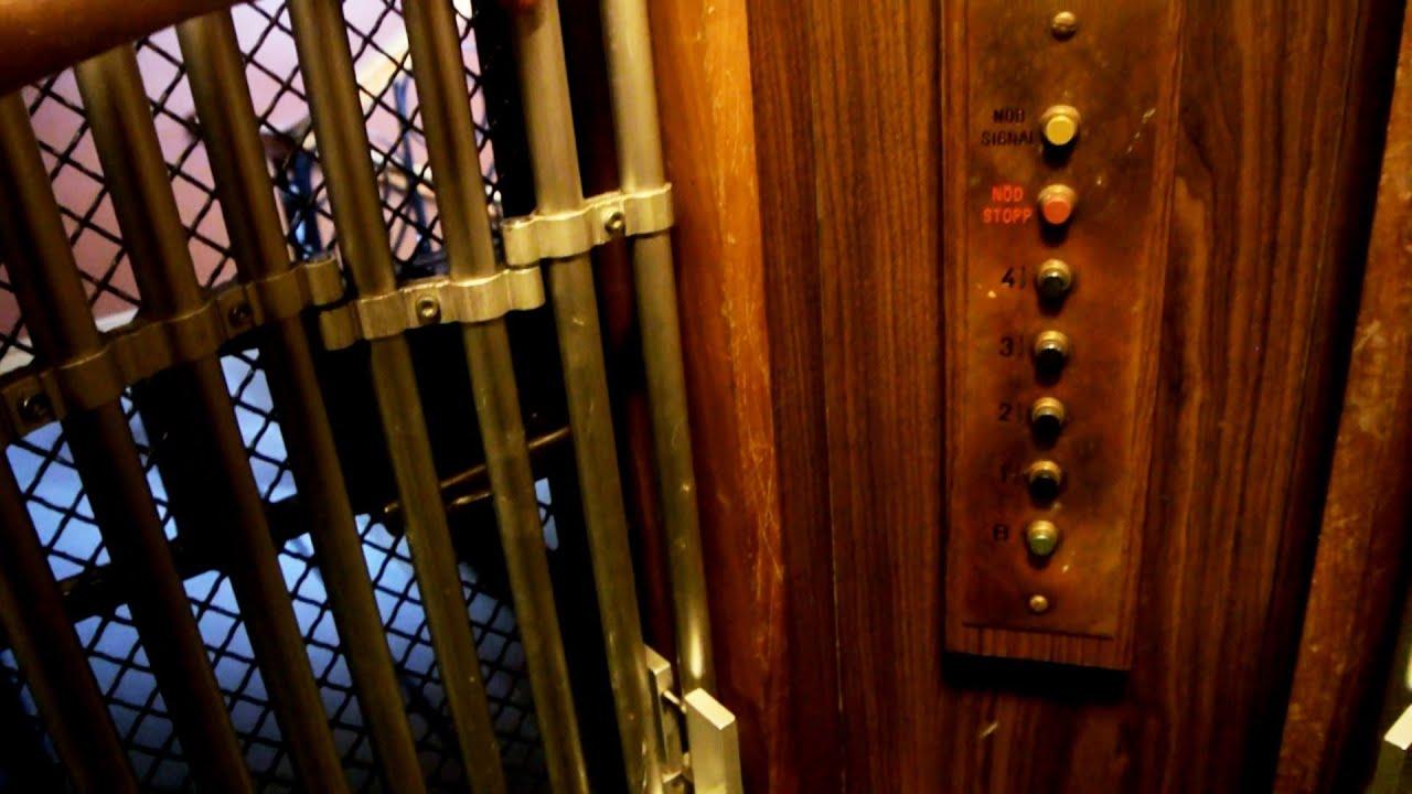 Epic Vintage Asea Elevator With Two Doors Scheelegatan
