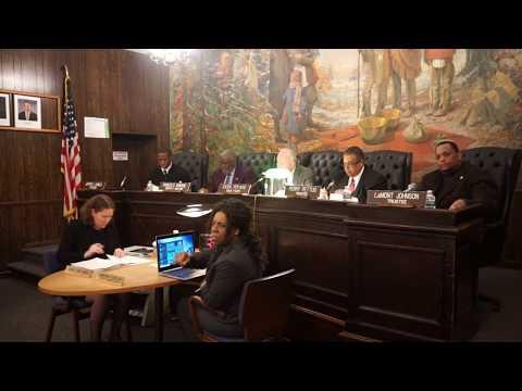Hempstead Village Board Meeting December 4, 2018