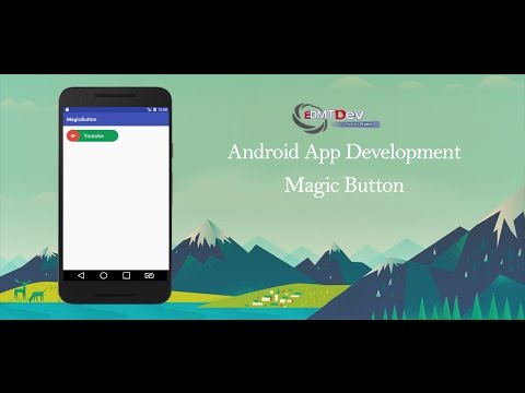 Android Studio Tutorial - Magic Button