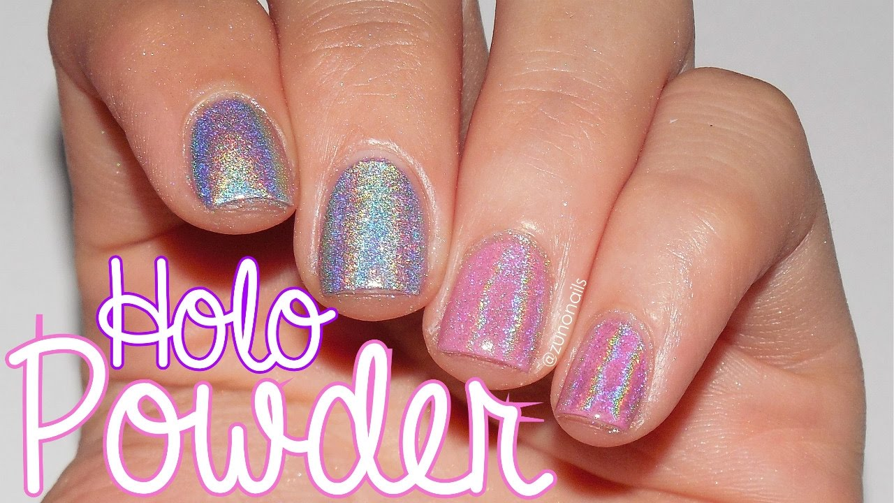 Mitty. Magical Fairy Dust Holo Powder | by ZunoNails - YouTube