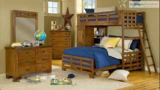 Heartland Bunk Bedroom Collection From American Woodcrafters