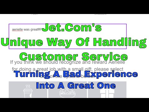 How Jet.Com Turned A Bad Customer Experience Into A Great One With A Cool Twist on Customer Service