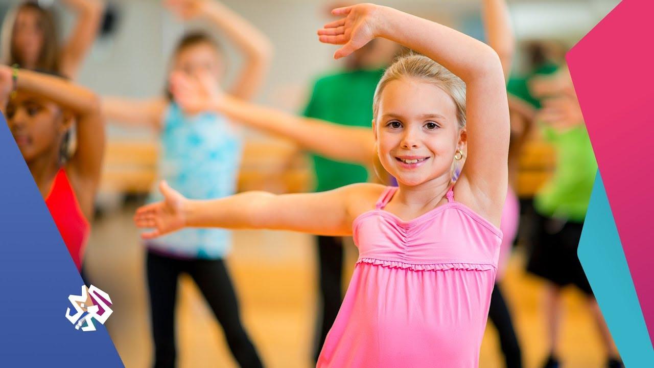 رقصة الزومبا للأطفال صباح النور Youtube