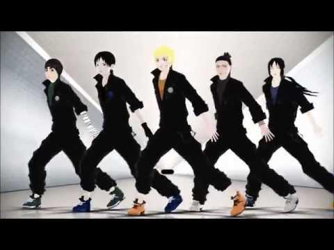 【MMD】Rude Boy【NARUTO】