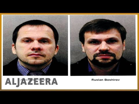 🇬🇧 🇷🇺 UK: Russians charged with Skripal nerve-agent poisoning | Al Jazeera English