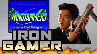 Iron Gamer - Windjammers with JonTron - TGS