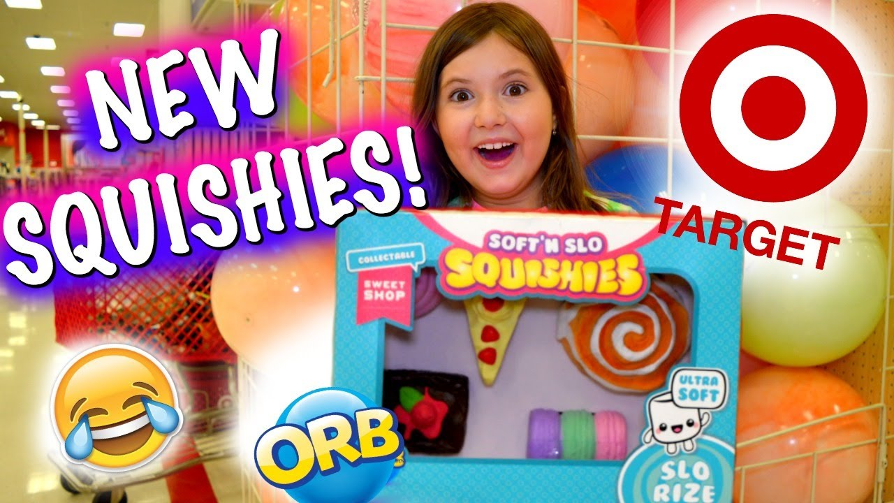 REAL SQUISHIES AT TARGET, TOYS R US, WALMART!!! SQUISHY VLOG & FLOOR IS LAVA! ~ NEW ORB ...