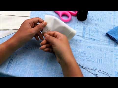 การทำตะเข็บด้วยมือแบบง่ายๆ
