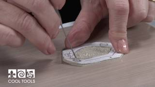 Cool Tools | Tab Setting a Freeform Cabochon in Metal Clay by Valerie Bealle
