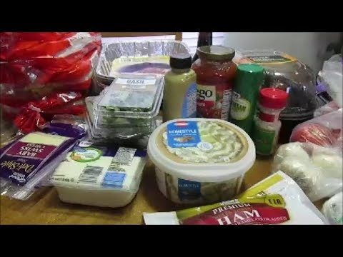 Grocery Haul For Church Christmas Party + A Few Thrift Items