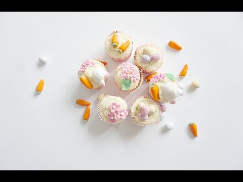Bunny's Bottom Cup Cakes