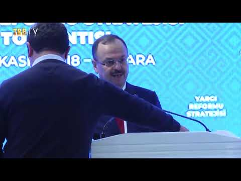 Adalet Bakan Yrd. Yıldız SEFERİNOĞLU | Yargı Reformu Strateji Toplantısı