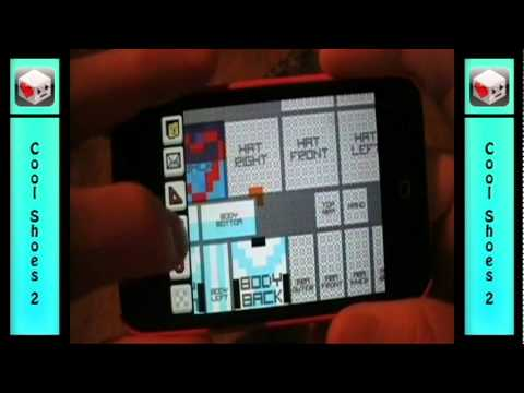 How To Make Minecraft Skins On IPod IPhone Cool Shoes YouTube - Minecraft skins fur ipod