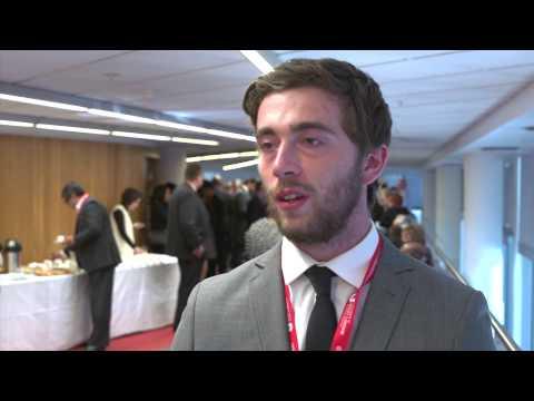 The Claude Littner Business School launch - Ellis Johnson
