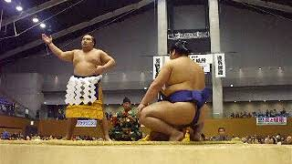 Grand Sumo autumn touring 松江総合体育館 Matsue general gymnasium O...