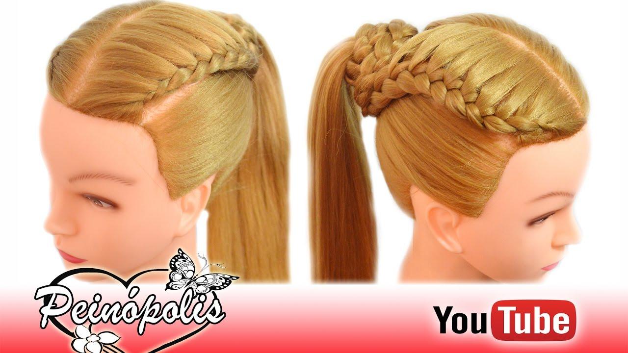 Peinados Para Nina Escuela Faciles Y Bonitos Peinopolis Youtube