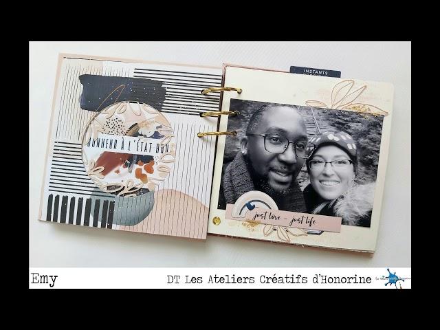 Mini Album Une Si Belle Journée Ensemble par Emy