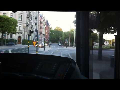 7an Spårvagn från Djurgården till Norrmalmstorg (Stockholm)