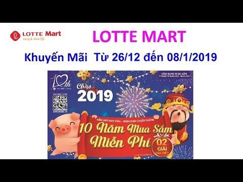 Khuyến Mãi - Lotte Mart - Từ 26/12 đến 08/1/2018