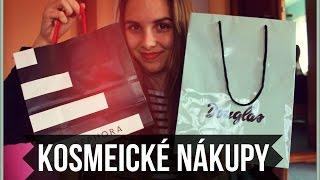 Kosmetické nákupy (Sephora,Douglas...)
