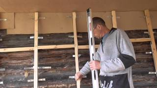 видео Облицовка деревянного дома