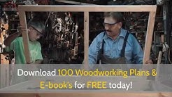 Woodworking Project Ideas for Beginners-Free Woodworking Plans