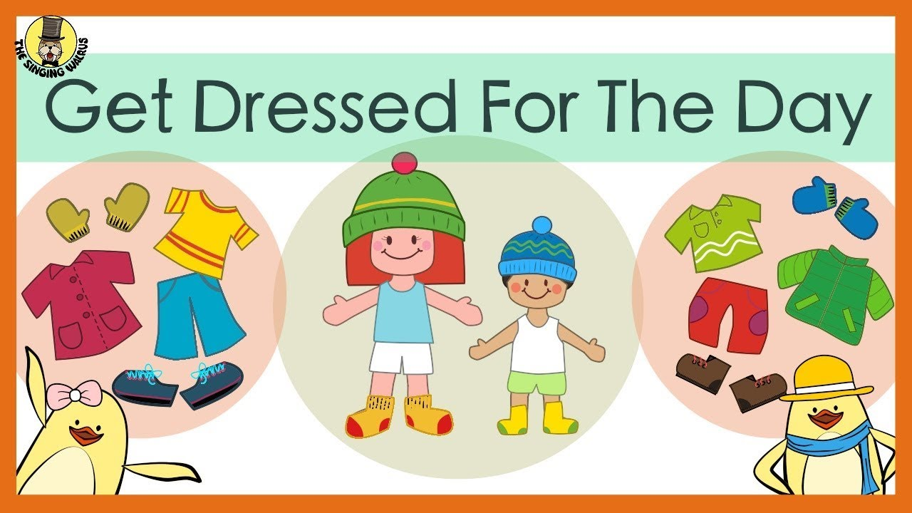 Get Dressed for the Day Song | The Singing Walrus - YouTube