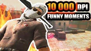 10 000 DPI WTF? - CSGO Funny Moments