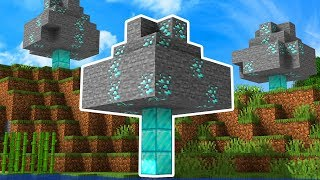 Minecraft UHC But Diamonds Grow On Trees