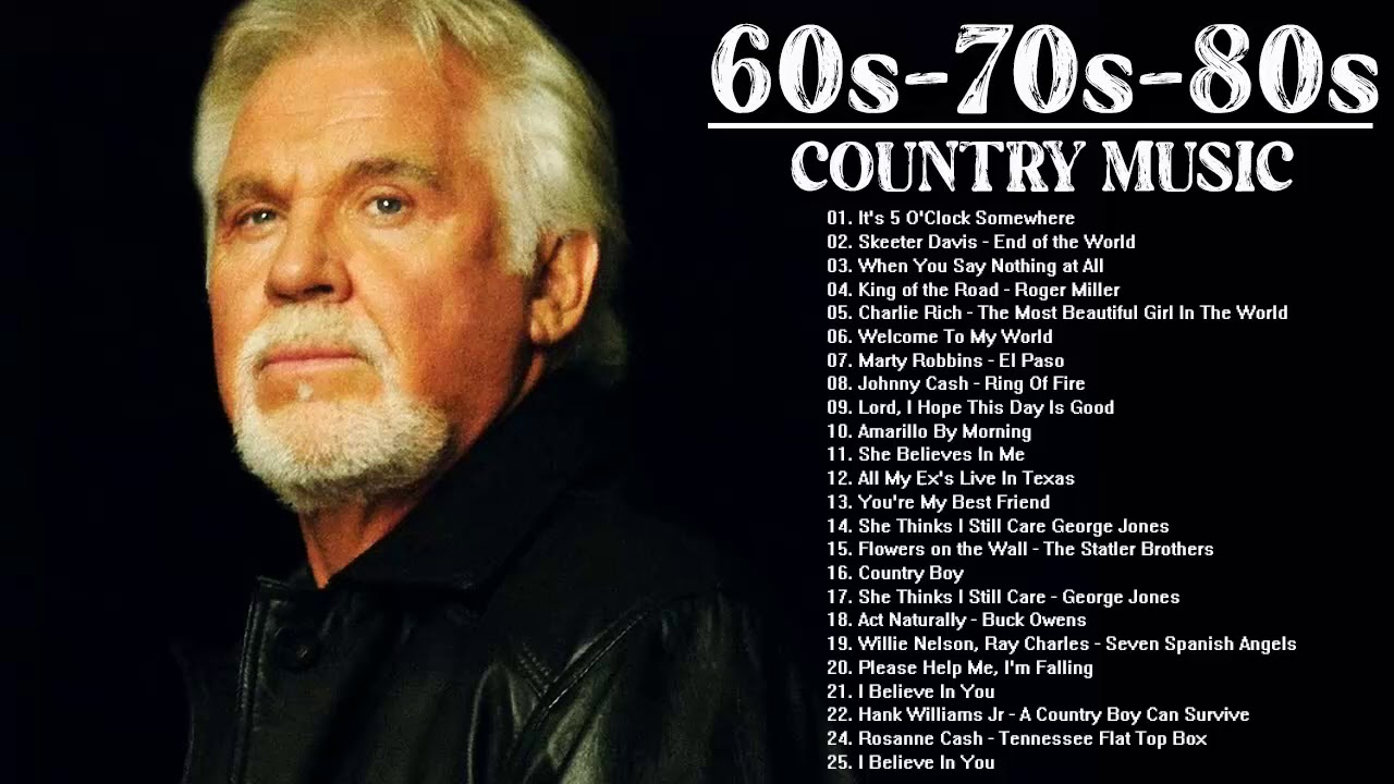Greatest 60s 70s 80s Country Music HIts - Alan Jackson, Don Williams, Garth Brooks, George Strait