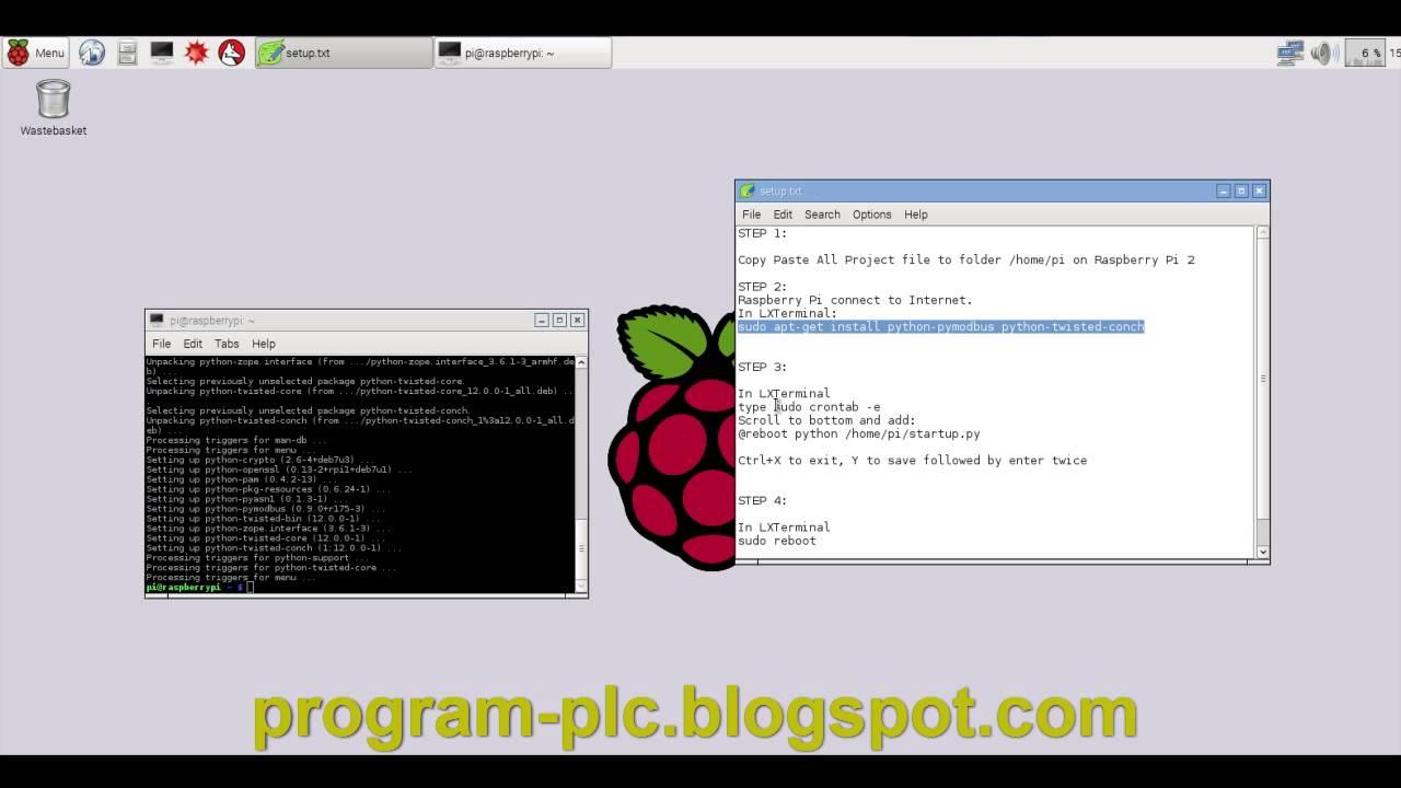 SCADA and Raspberry Pi 2 Setup