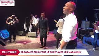 Concert : Drogba et Eto'o font le show au réveillon magique des Magiciens