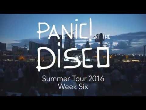 Panic! At The Disco - Summer Tour 2016 (Week 6 Recap)