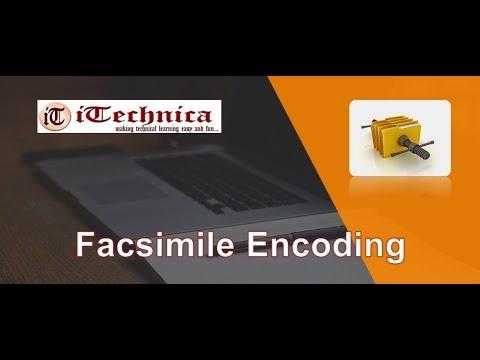 34. Facsimile Encoding Explanation