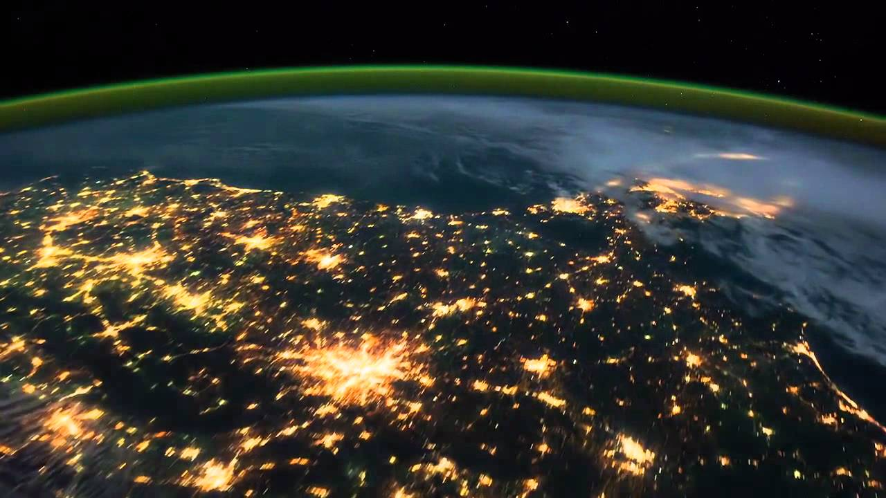 Stunning Footage From Space Youtube