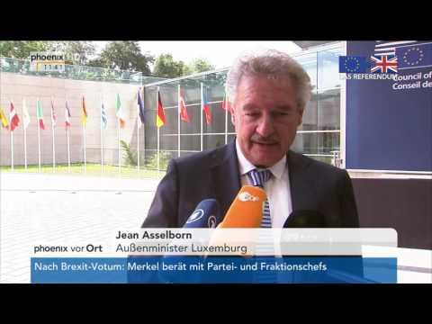 Brexit : Statement von Jean Asselborn am 24.06.2016