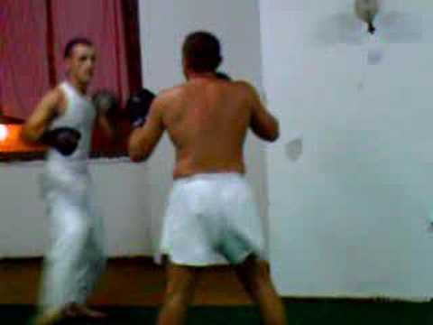 ISKA Macedonia Kickboxing Academy sparring