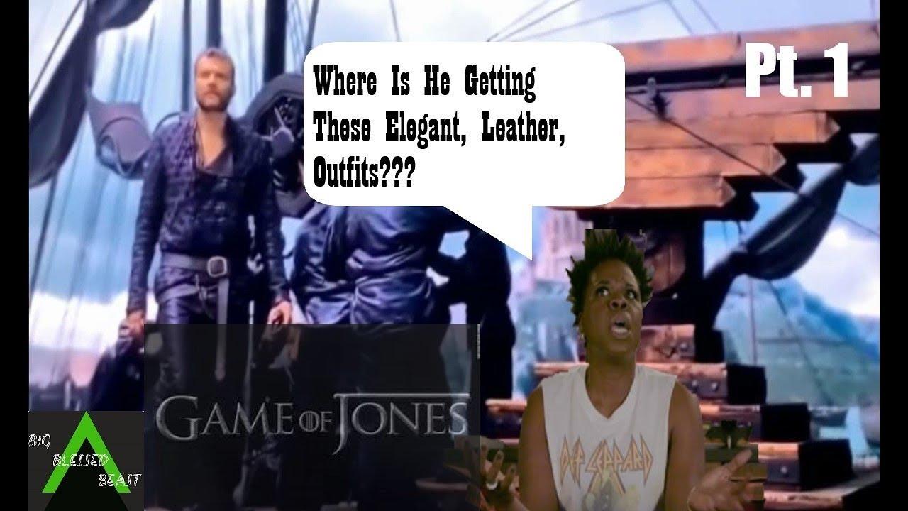 Game of Thrones Season 8 Episode 5 w/Leslie Jones pt  1 (Live Tweet) Try  Not To Laugh Challenge