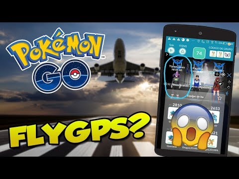 TIGER FOI PEGO USANDO FLY GPS? -  Pokémon Go thumbnail