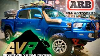 Check out the innovative accessories from ARB. In this video, AVR g...