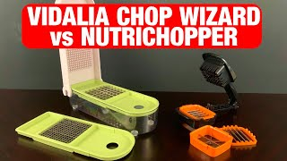 Food Chopper Showdown II: NutriChopper vs Vidalia Chop Wizard