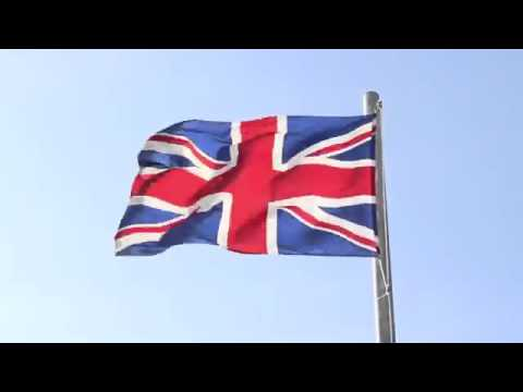 THE FLAG OF UNITED KINGDOM OF GREAT BRITAIN - THE UNION-JACK-FLAG.mp4