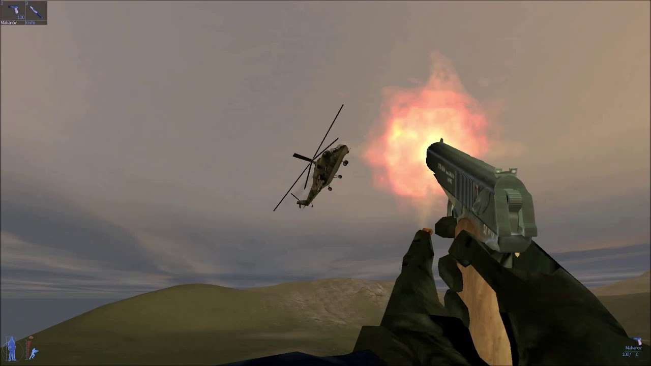 Download riding on a secret helicopter in IGI 2 mission''' border crossing''
