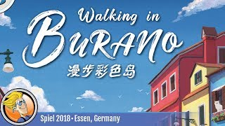 Walking in Burano — game overview at SPIEL '18
