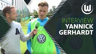 Letzten Sekunden gegen Schalke | Interview mit Yannick Gerhardt | VfL Wolfsburg