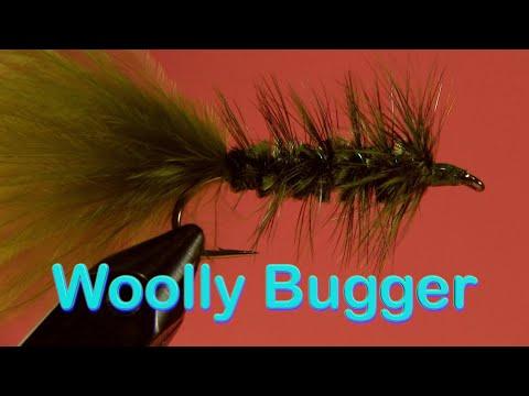 Beginner's Fly Tying Series - Easy Streamers: The Woolly Bugger