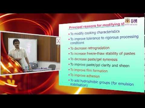 IMK421: Lecture 7 (25th October 2012) —Starch Modification